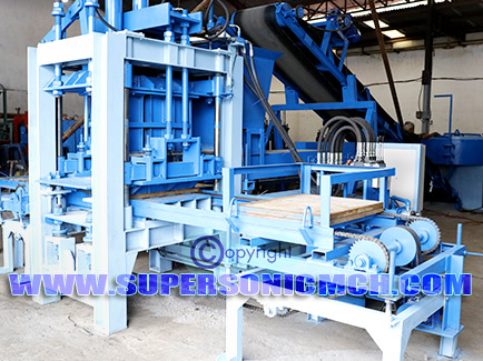 Paver Machine SABM-1P - Super Sonic Machinery