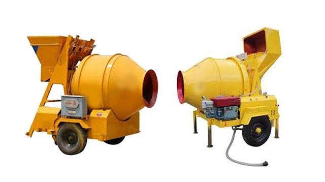 Mobile Concrete Mixer by Super Sonic Machinery